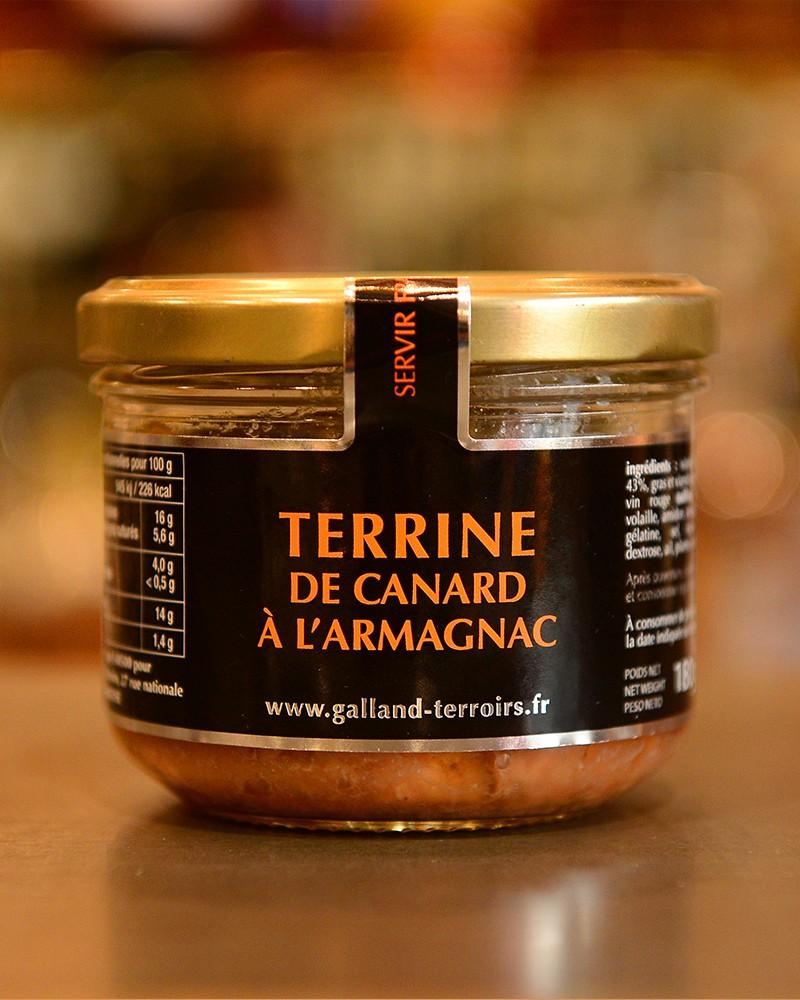 Terrine de canard à l'Armagnac